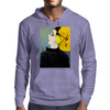 YELLOW BOW Mens Hoodie