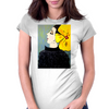 YELLOW BOW Womens Fitted T-Shirt