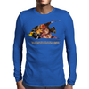 Yellow fish Mens Long Sleeve T-Shirt