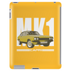 Yellow Ford Capri MK1 Classic Car Tablet