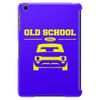 Yellow Ford Escort Old School Classic Car Tablet