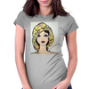 YELLOW HAT GIRL Womens Fitted T-Shirt
