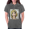 YELLOW HAT GIRL Womens Polo