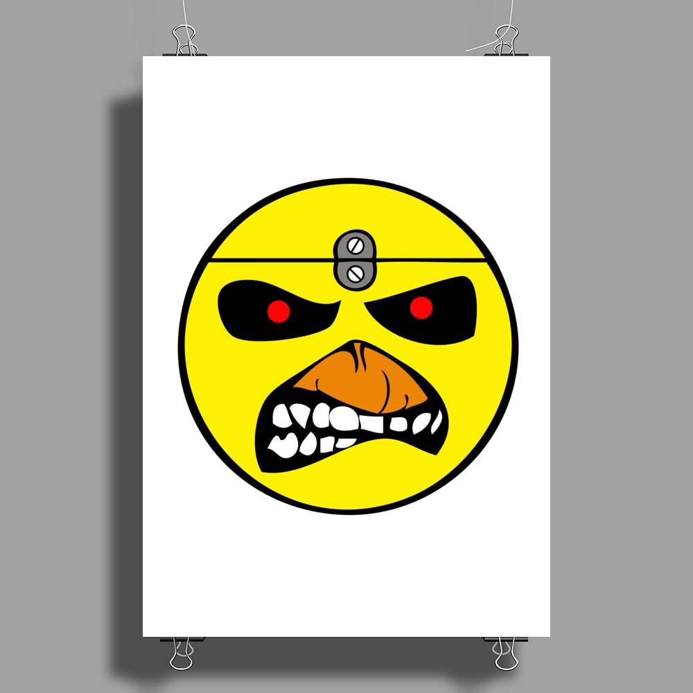 Yellow Head Poster Print (Portrait)