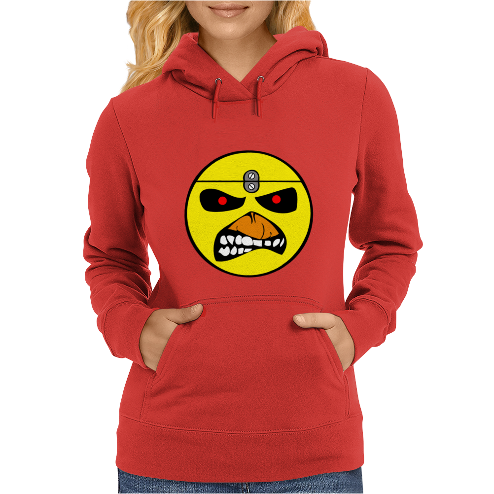 Yellow Head Womens Hoodie