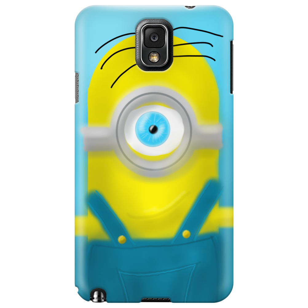 Yellow minions Phone Case
