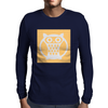 Yellow Owl Mens Long Sleeve T-Shirt