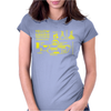 Yellow Submarine Blueprint Womens Fitted T-Shirt
