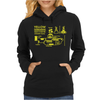 Yellow Submarine Blueprint Womens Hoodie