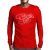 Yes Fragile Graffiti Mens Long Sleeve T-Shirt