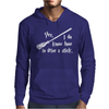 Yes, I do know how to drive a stick Mens Hoodie