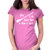Yes, I do know how to drive a stick Womens Fitted T-Shirt
