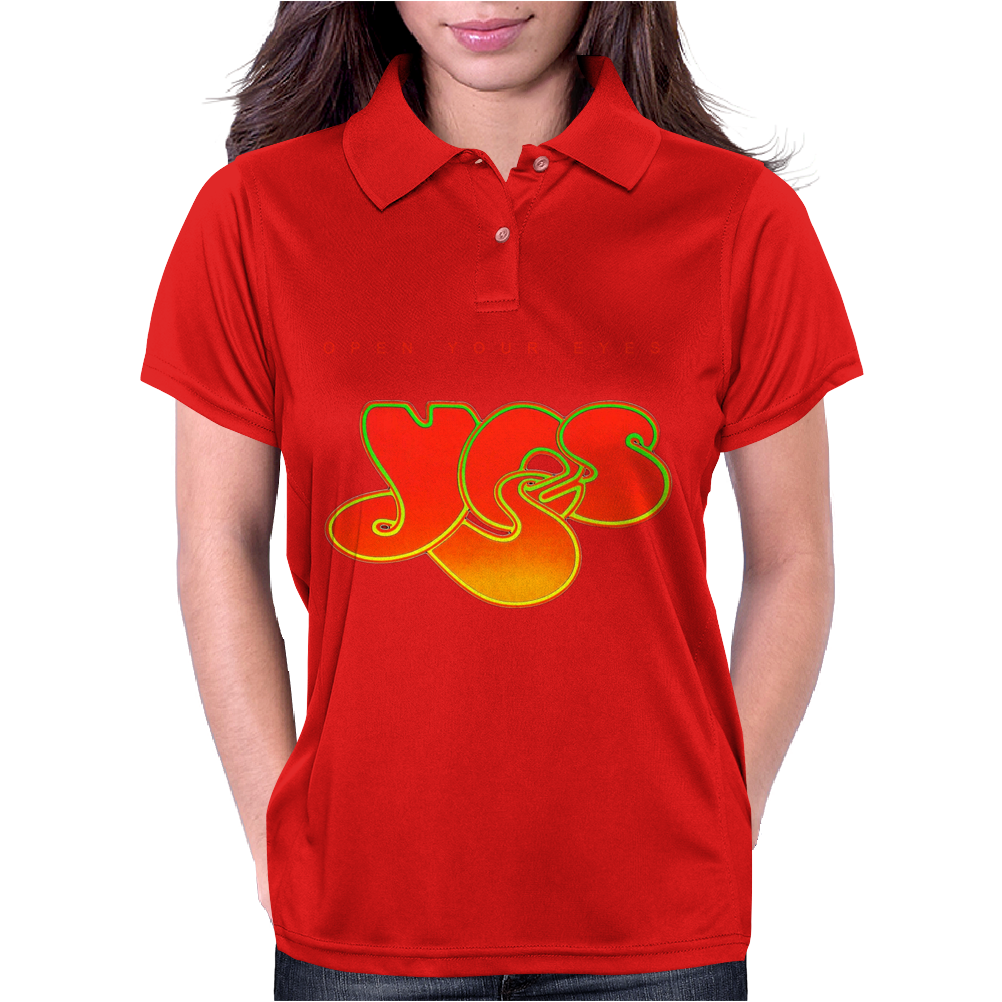 Yes Open Your Eyes Music Album Womens Polo