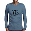 YES WAY Mens Long Sleeve T-Shirt