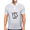 YES WAY Mens Polo