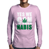 YES WE CAN nabis Mens Long Sleeve T-Shirt