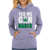 YES WE CAN nabis Womens Hoodie