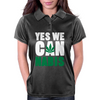 YES WE CAN nabis Womens Polo