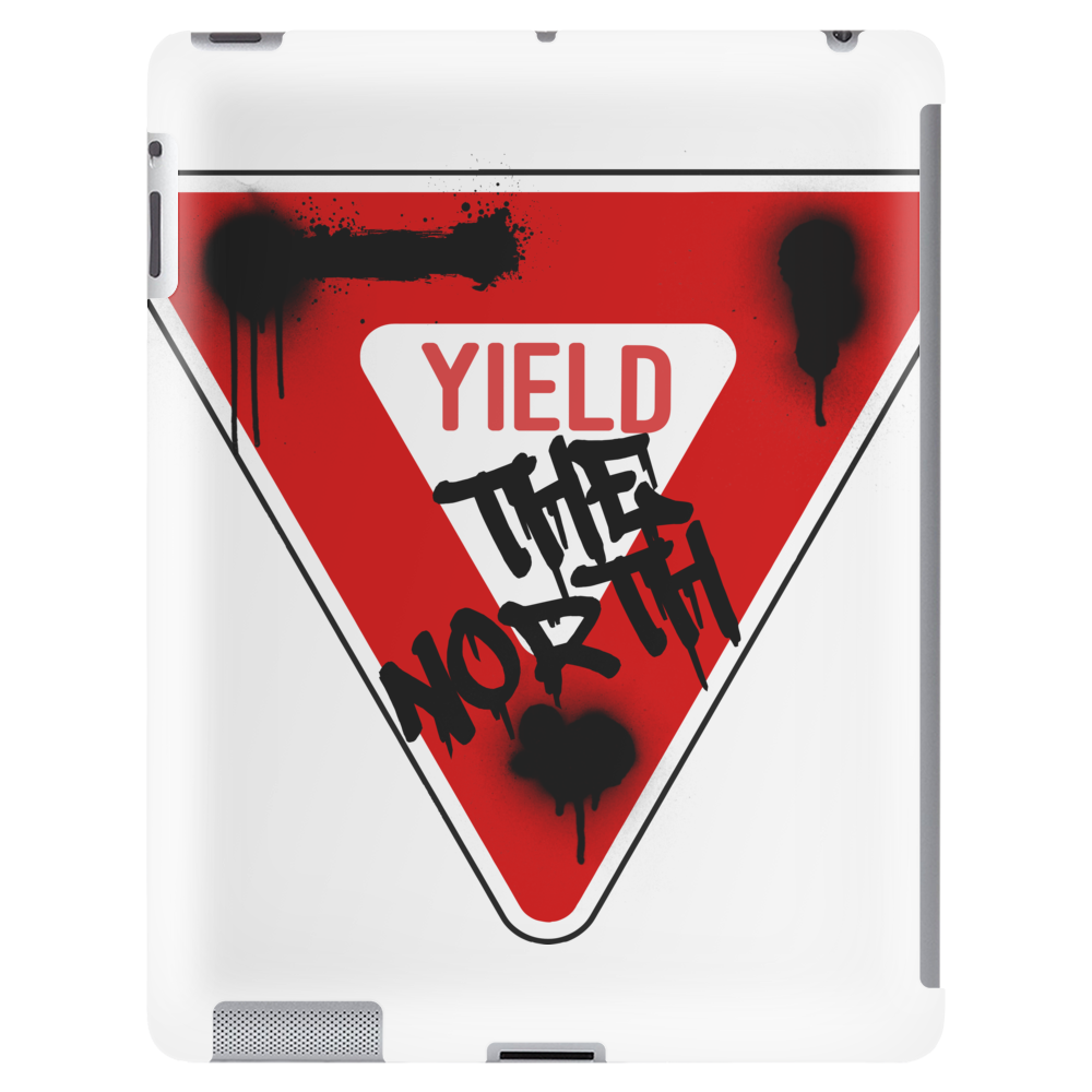 Yield the North Management Logo Tablet (vertical)