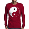 Yin Yang Chinese Mens Long Sleeve T-Shirt