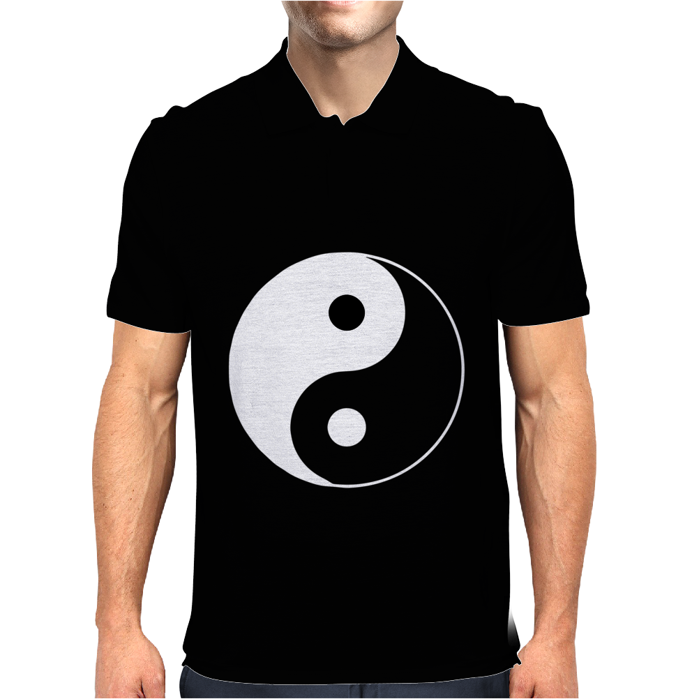 Yin Yang Chinese Mens Polo