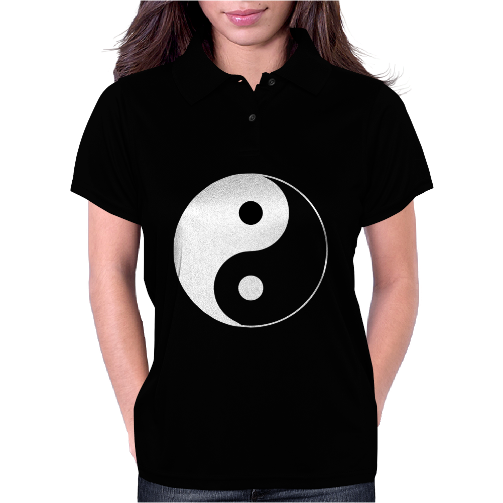 Yin Yang Chinese Womens Polo
