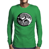 Yin-Yang Perfect Balance Tree Mens Long Sleeve T-Shirt