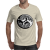 Yin-Yang Perfect Balance Tree Mens T-Shirt