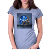 Yin & Yang universe Womens Fitted T-Shirt