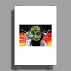YODA  COME  HOME Poster Print (Portrait)