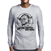 Yoda Funny Slogan Retro Movie Mens Long Sleeve T-Shirt