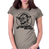 Yoda Funny Slogan Retro Movie Womens Fitted T-Shirt