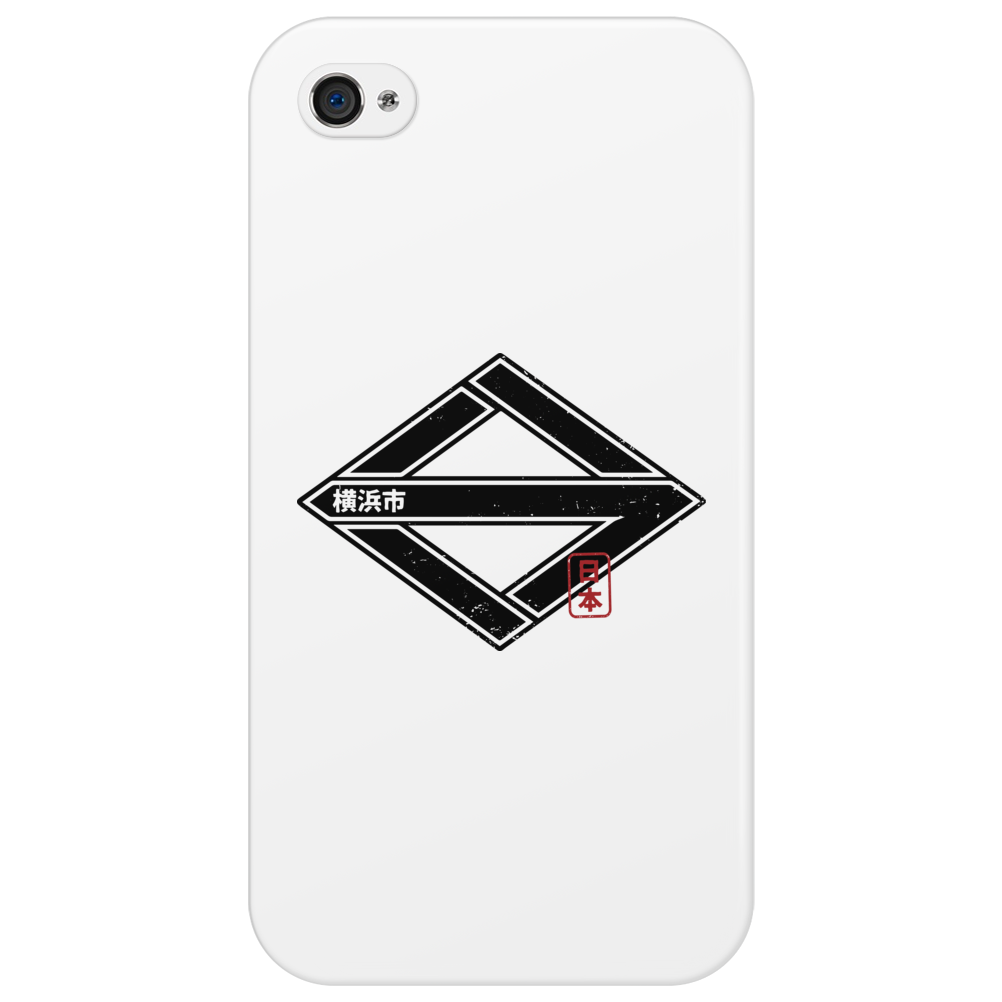 YOKOHAMA City Japanese Municipality Design Phone Case