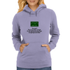 You and I Trust each other enough  To tell half the fucking truth  Everybody needs that! Womens Hoodie