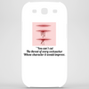 """You can't cut the throat of every cocksucker whose character it would improve. Phone Case"