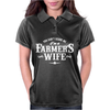 You Can't Scare Me Farmer's Wife Womens Polo