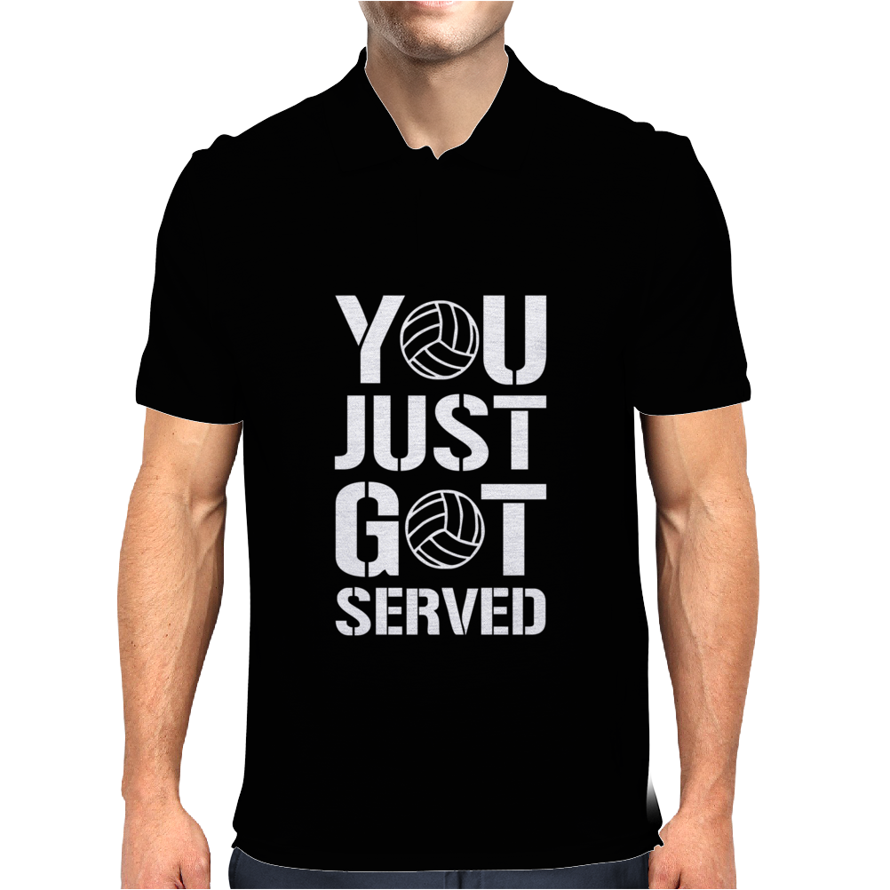 You Just Got Served Mens Polo