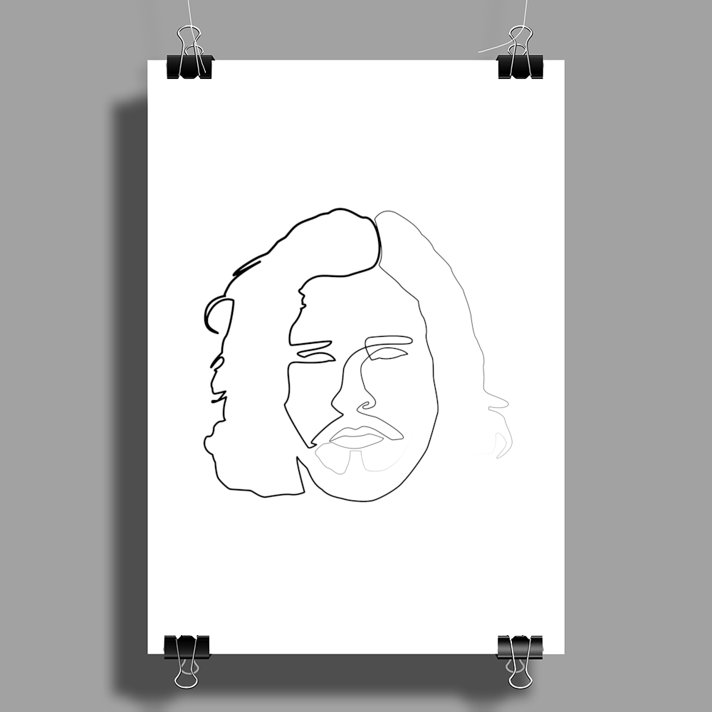 You Know Nothing Poster Print (Portrait)