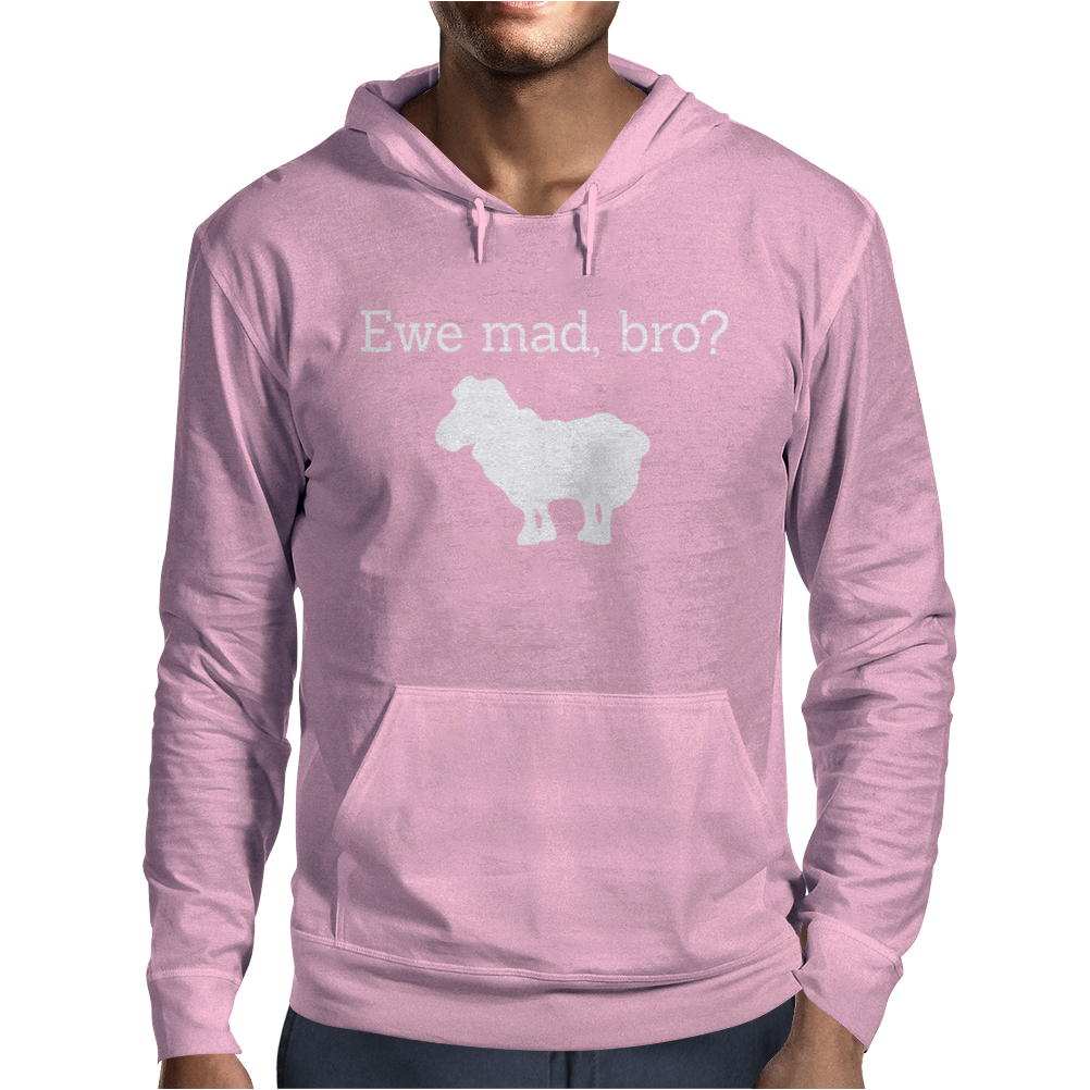 You mad bro Mens Hoodie