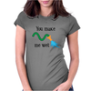 You make me wet Womens Fitted T-Shirt