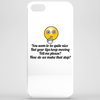 You seem to be nice and you're pretty but your lips keep moving ....How do we make that stop? Phone Case