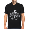 You Shall Not Pass Mens Polo