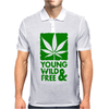 Young Wild And Free Mens Polo
