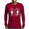 Your Daughter My Daughter - Firefighter Mens Long Sleeve T-Shirt