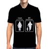 Your Daughter My Daughter - Firefighter Mens Polo