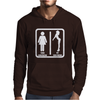 Your Girlfriend vs My Girlfriend Funny Pub Jokr  Impress Your Friends! Mens Hoodie