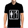 Your Girlfriend vs My Girlfriend Funny Pub Jokr  Impress Your Friends! Mens Polo