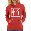 Your Girlfriend vs My Girlfriend Funny Pub Jokr  Impress Your Friends! Womens Hoodie