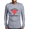 Your home is where Mens Long Sleeve T-Shirt