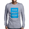 Your Image Here Mens Long Sleeve T-Shirt